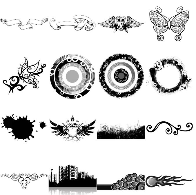 VOL2 Photoshop Brushes