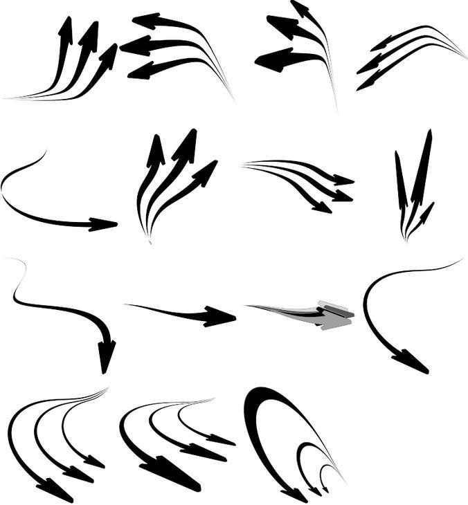Arrows brush