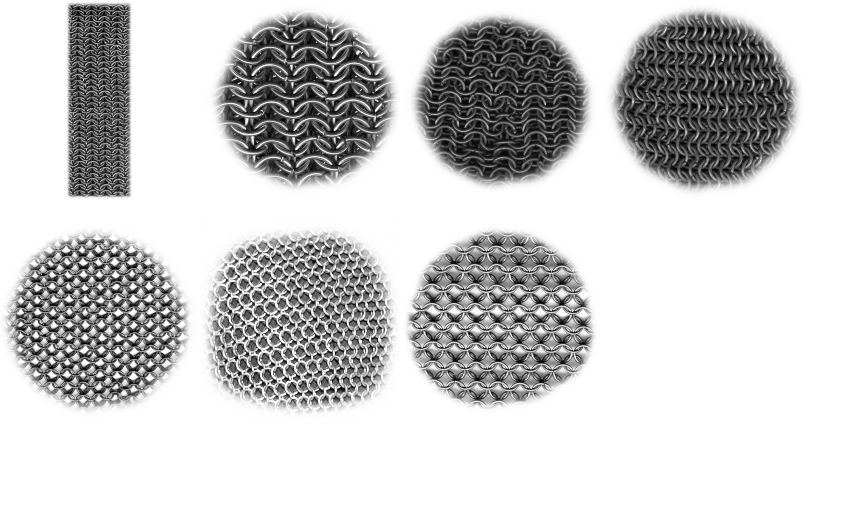 Chain-mail brushes - Download | Qbrushes net