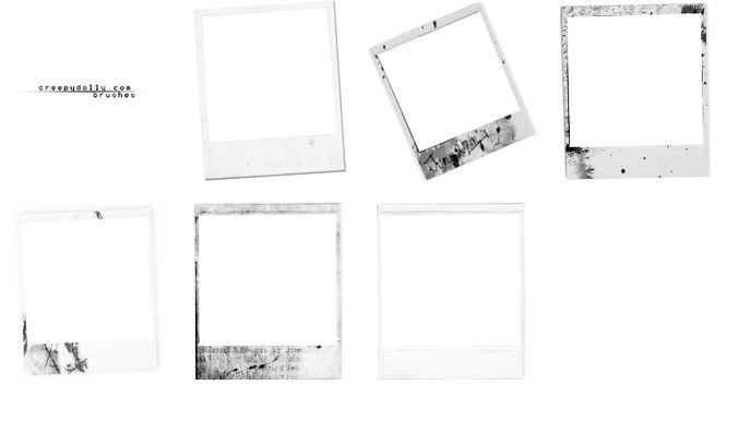 Polaroid brush set