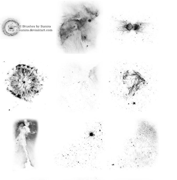 Galaxies brush