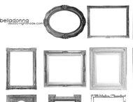 Frames and Polaroid brush
