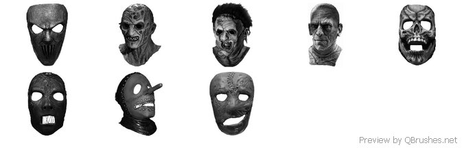 8 famous horror masks
