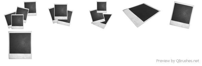 6 Polaroid brushes