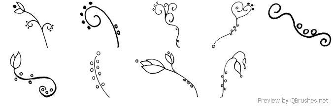 Flowery Scribble
