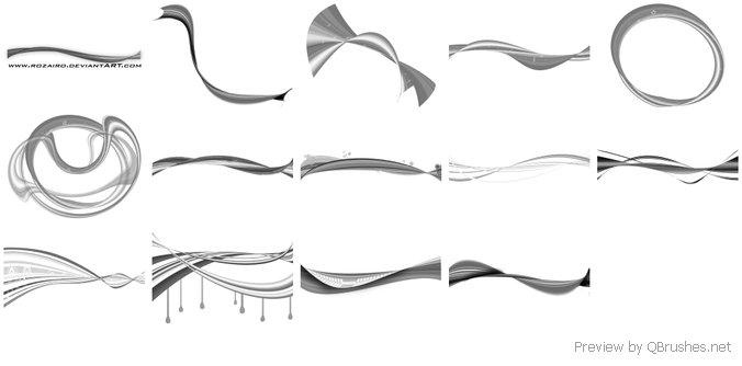 Ribbon Brushes