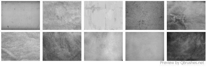 10 Big paper texture brushes