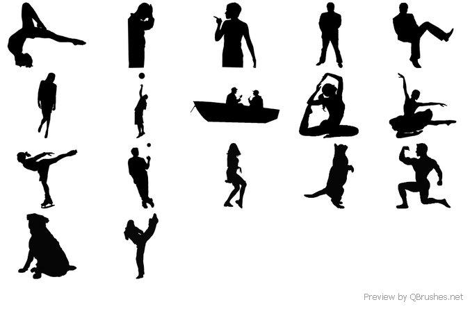 17 HD silhouette
