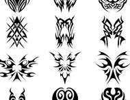 Tribal brush set 3