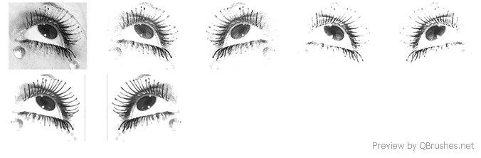 Eyes brush