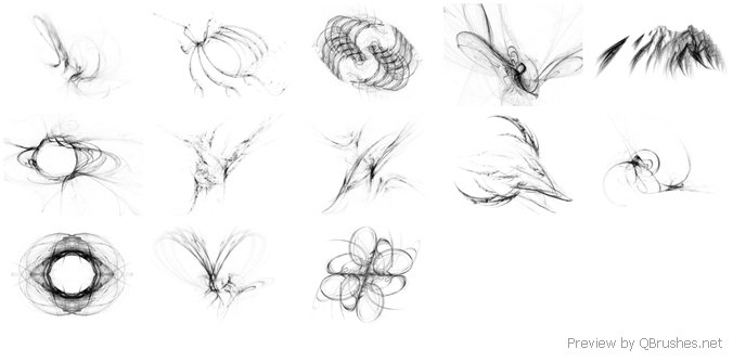 Abstract Brushset XIII