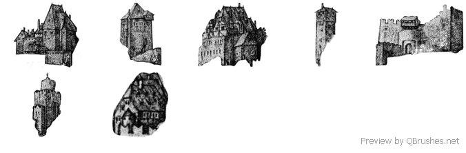 Ancient city remix brushes