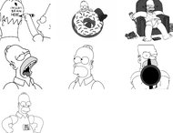 Homer Simpson brush pack