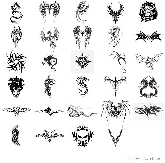 aggressive tattoo