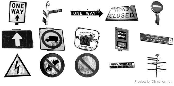 Street Sign Grunge
