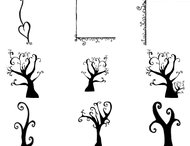 15 Doodles tree brushes