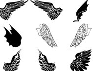 Angels Demons Wings