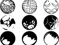 Vectorial spheres brush pack