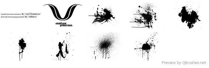 MF Splatter Brush Pack v.01