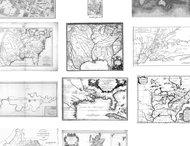 Antiques maps