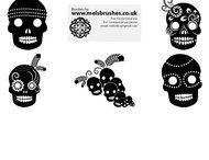 Mexican skull brush