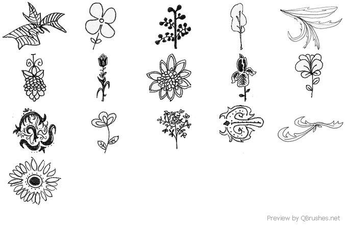 Hand-drawn Ornaments