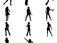 Female dancing