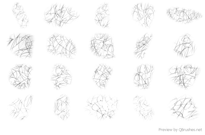 Scribbles brushes
