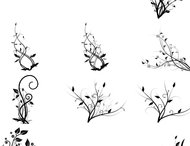 Vines Brushes set 2