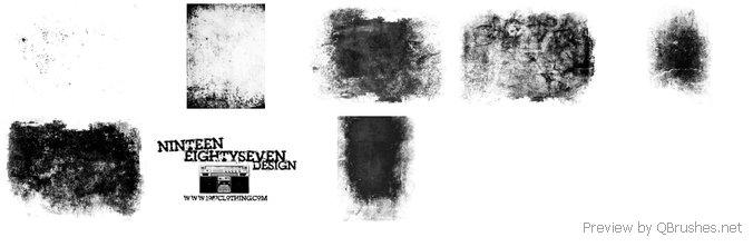 Seven Grunge Brush