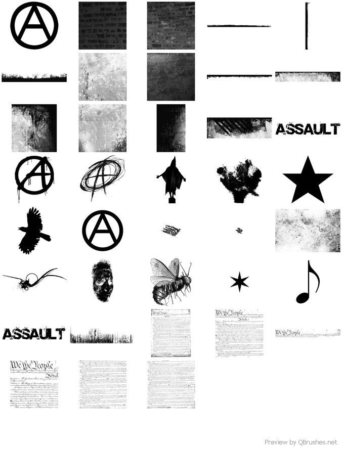 Assault Grunge Brush Set