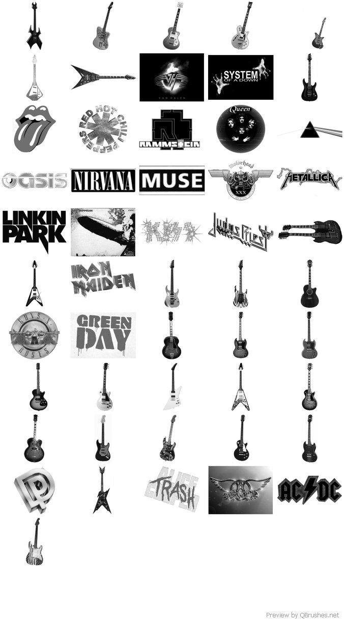 Guitar brushes
