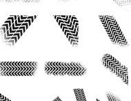Tank Pattern Grunge Brushes