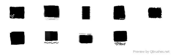 9 Decorative mask brushes