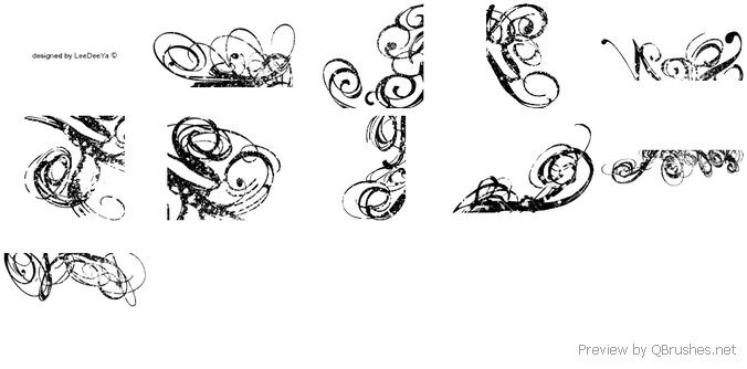 10 Spotted swirls brushes