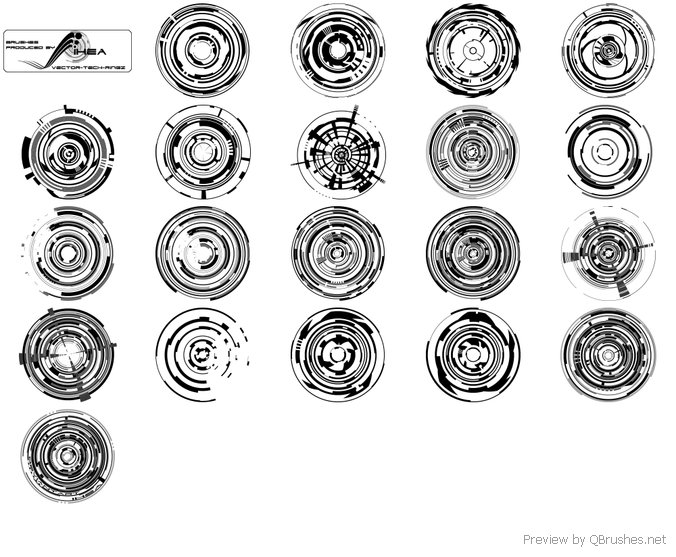 Vector Tech Rings