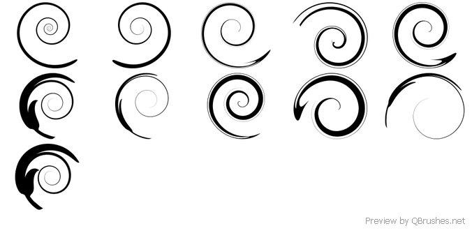 swirl ornament brush download qbrushes net