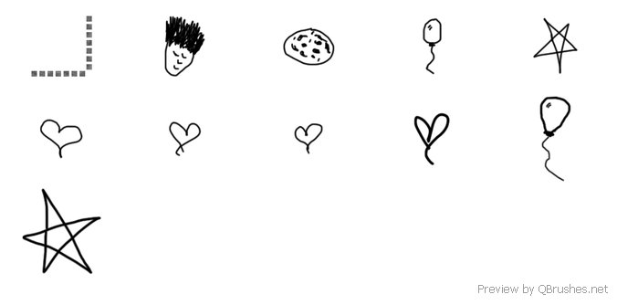 Doodles brush