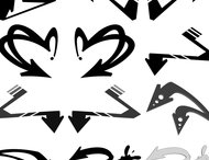Graffiti arrows brush pack-1