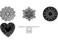 Doily Brushes Pack