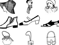 Clothes style brushes