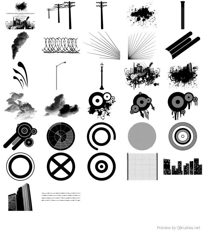 Urban Designs Brushes