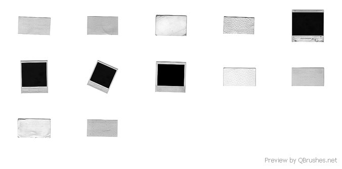 Polaroid brushes