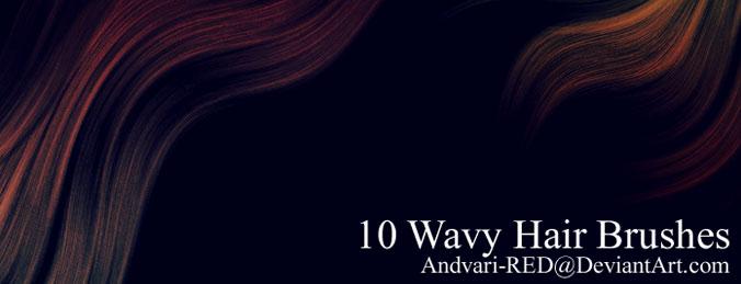 Wavy hair Brushes