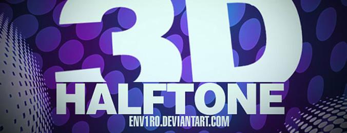 3D Halftone