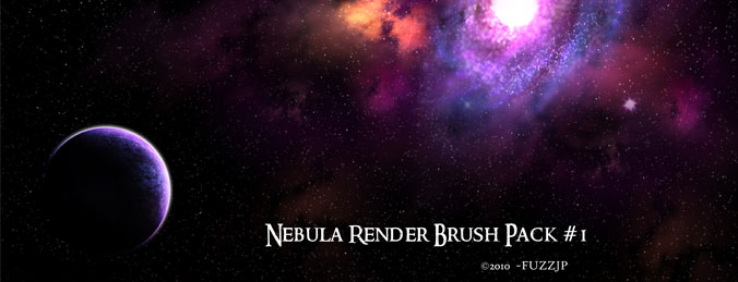 Hi-Res Nebula Brushes