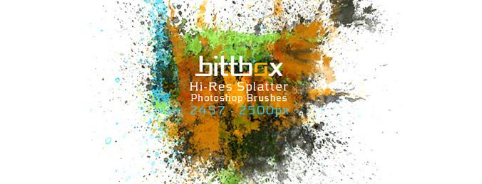 Hi-Res Splatter