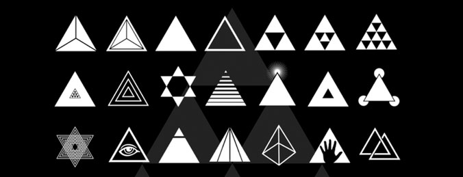 Free Triangle Brushes