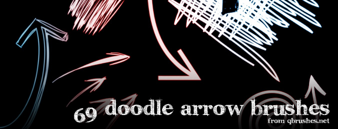 69 Doodle arrows