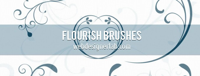 PS Floral Brushes
